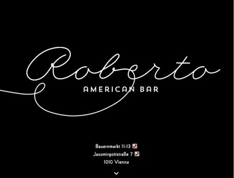 Roberto American Bar | Website